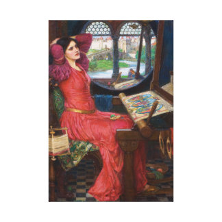 Dame der Schalotte durch John William Waterhouse Leinwanddruck