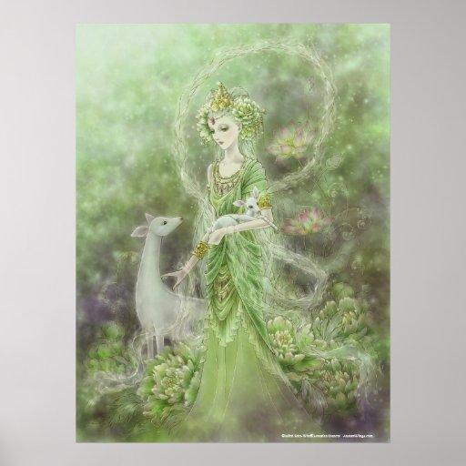 Dame des Mitleid-Kunst-Druckes Posterdruck
