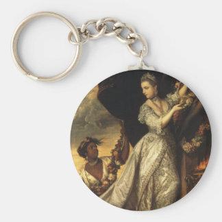 Dame Elizabeth Keppel Schlüsselanhänger