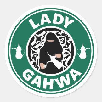 Dame Gahwa Stickers