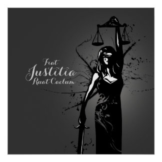 Dame Justice Poster