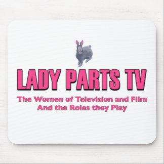 Dame Parts TV Mousepad