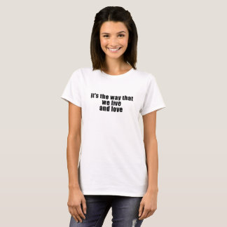 Dame PartsTV Lesbian Movie Club Live u. T-Shirt