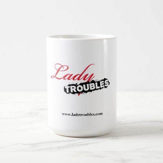 Dame Troubles Logo Mug Kaffeetasse