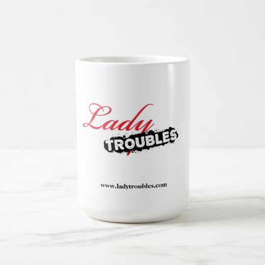 Dame Troubles Logo Mug Tasse