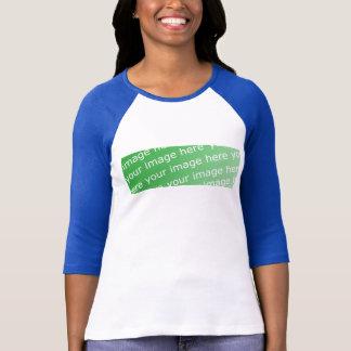Damen 3/4 HülseRaglan angepasst T-Shirt