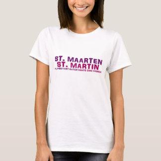 Damen-Baby St. Maarten St Martin - Puppe Shirt