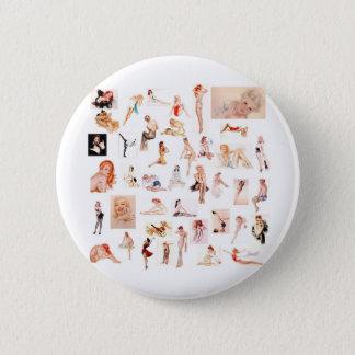 Damen-Damen-Damen! Runder Button 5,1 Cm