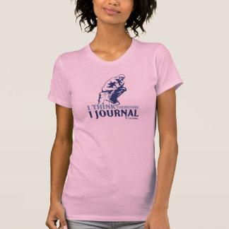 Damen-klassische t (ich denke, deshalb zapfe ich) T-Shirt