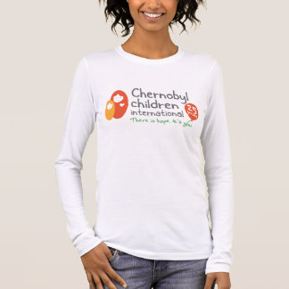 Damen-lange Hülse T (angepasst) Langarm T-Shirt