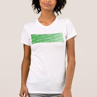 Damen OM bloße Spitze T-Shirt