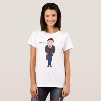 Damen-T - Shirt des Chefs Tages