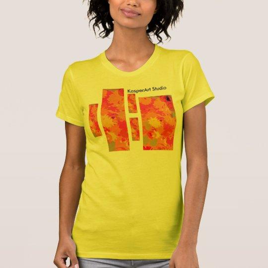 Damen-T-Shirt KasperArt Studio-Blockbauweise T-Shirt