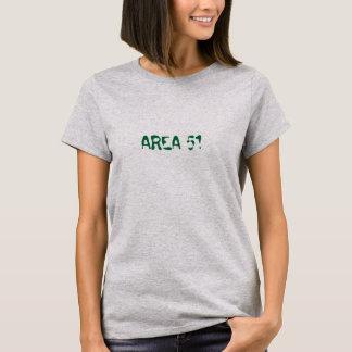 Damen-T - Shirt ScifI des Bereichs 51