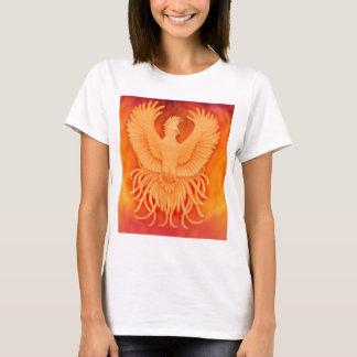 Damenbabydoll-Shirt Phoenix steigendes T-Shirt