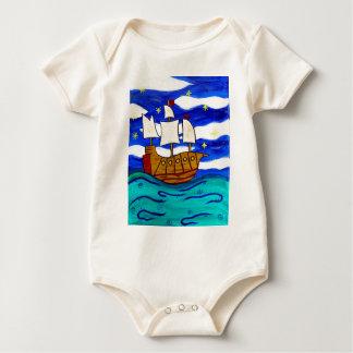 Dämmerungs-Schiff Baby Strampler