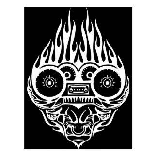 Dämon-Laufen Postkarten