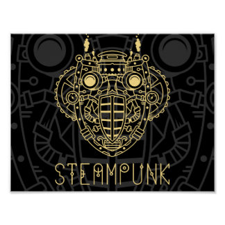 Dampf-Symbol-Ikonen-Plakat Poster