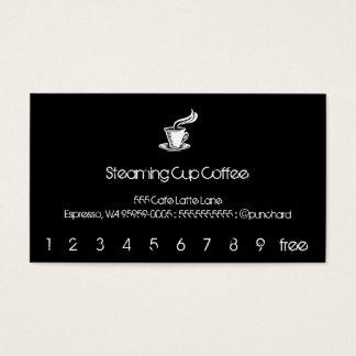 Dämpfende Schalen-Lochkarte/Loyalität Visitenkarten