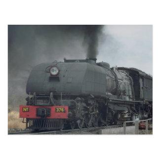 Dampfzug, Simbabwe Postkarte