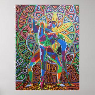 Dancing - 2011 posterdruck