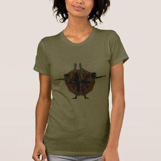 Dandayamana Dhanurasana - 2010 als T-Shirt