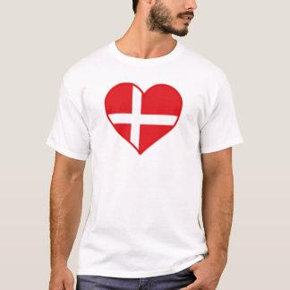 Dänemark-Liebe-T - Shirt