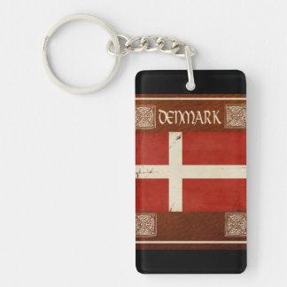 Dänemarkschlüsselketten-Andenken Schlüsselanhänger