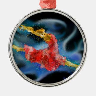 Danerossia V1 - der Tanz Silbernes Ornament
