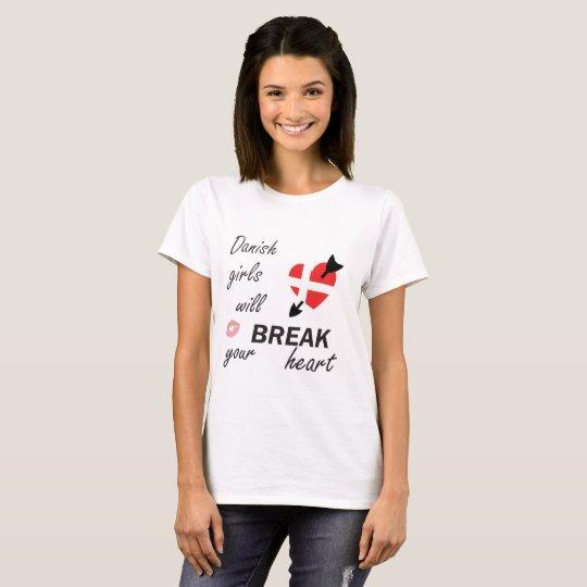 Dänischer Heartbreaker T-Shirt