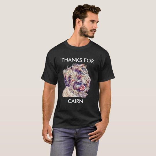Dank für Cairn-T - Shirt