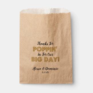 Dank für Poppin herein für unser großes Tagesgold Geschenktütchen