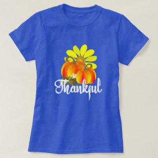 Dankbare Herbst-Fall-Kürbise grafisch T-Shirt