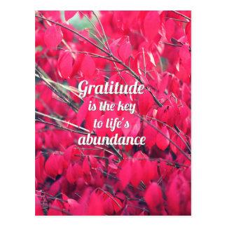 Dankbarkeit Postkarten