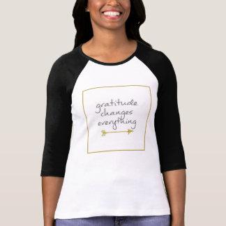 Dankbarkeit T-Shirt