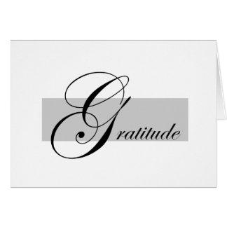 Dankbarkeits-Anmerkungs-Karte Mitteilungskarte