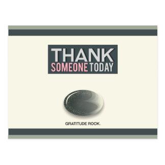 Dankbarkeits-Felsen Postkarte