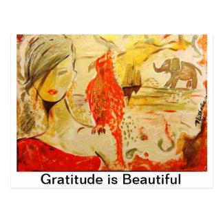 Dankbarkeits-Karten Postkarte