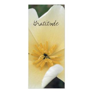 Dankbarkeits-Lesezeichen 10,2 X 23,5 Cm Einladungskarte