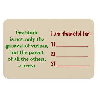 Dankbarkeits-Magnet