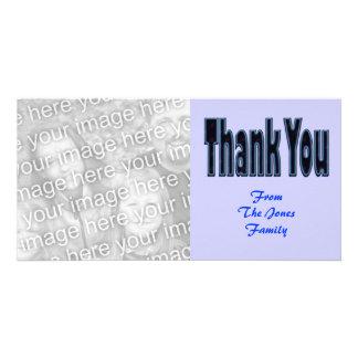 danke blau fotokarten