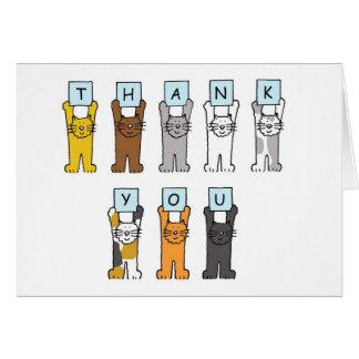 Danke Cartoonkatzen. Karte