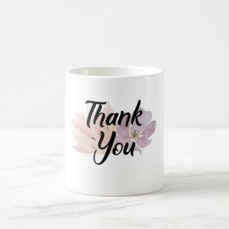 Danke das Blumen Geschenk Kaffeetasse