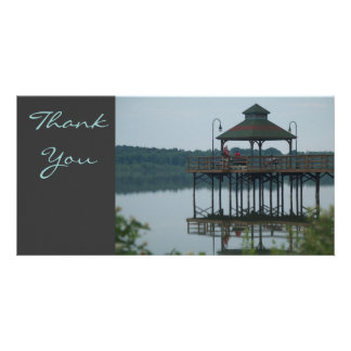 Danke, Dock w/Gazeebo Bilderkarte