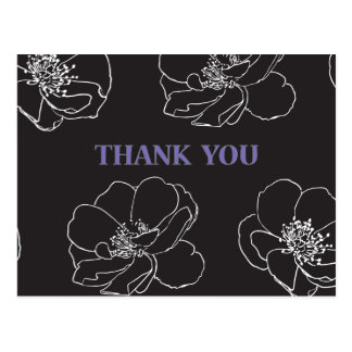 Danke, - doppelseitiges zu merken postkarten