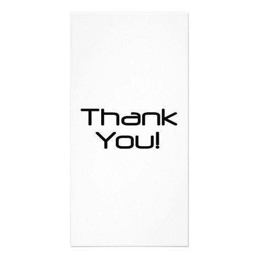 Danke Individuelle Photo Karten