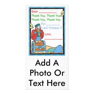 Danke für (a-Geschenk) Photo Grußkarte