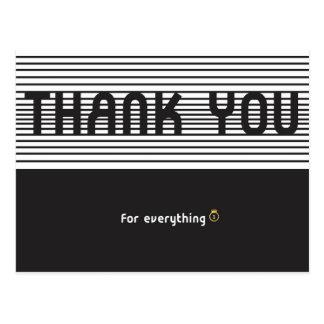 Danke für alles postkarten
