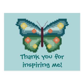 Danke für das Inspirieren ich! Postkarte