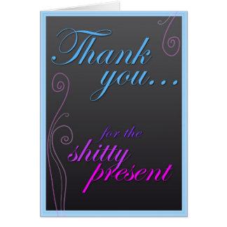 Danke für das SH! tty-Geschenk Karte